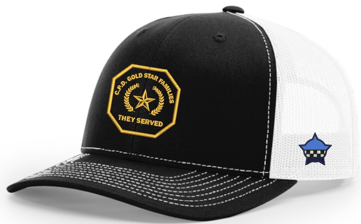 Gold Star Family Snapback Trucker Mesh