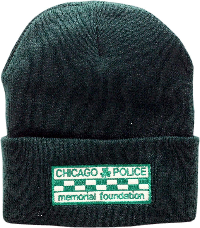 CPD Memorial Checkerboard Shamrock Cuffed Knit