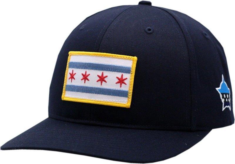 Chicago Flag Adjustable Hat