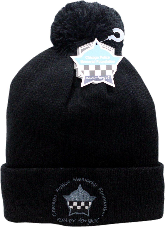 CPD Memorial Foundation Cuffed Pom Knit Hat