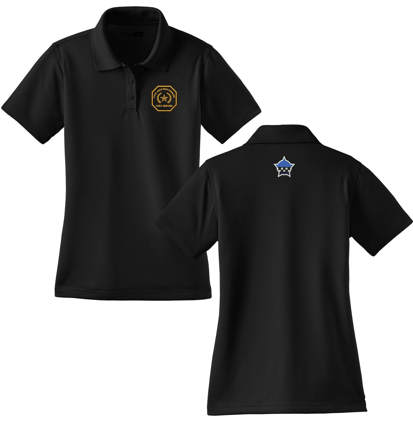 Gold Star Family Ladies Select Snag-Proof Polo CS413