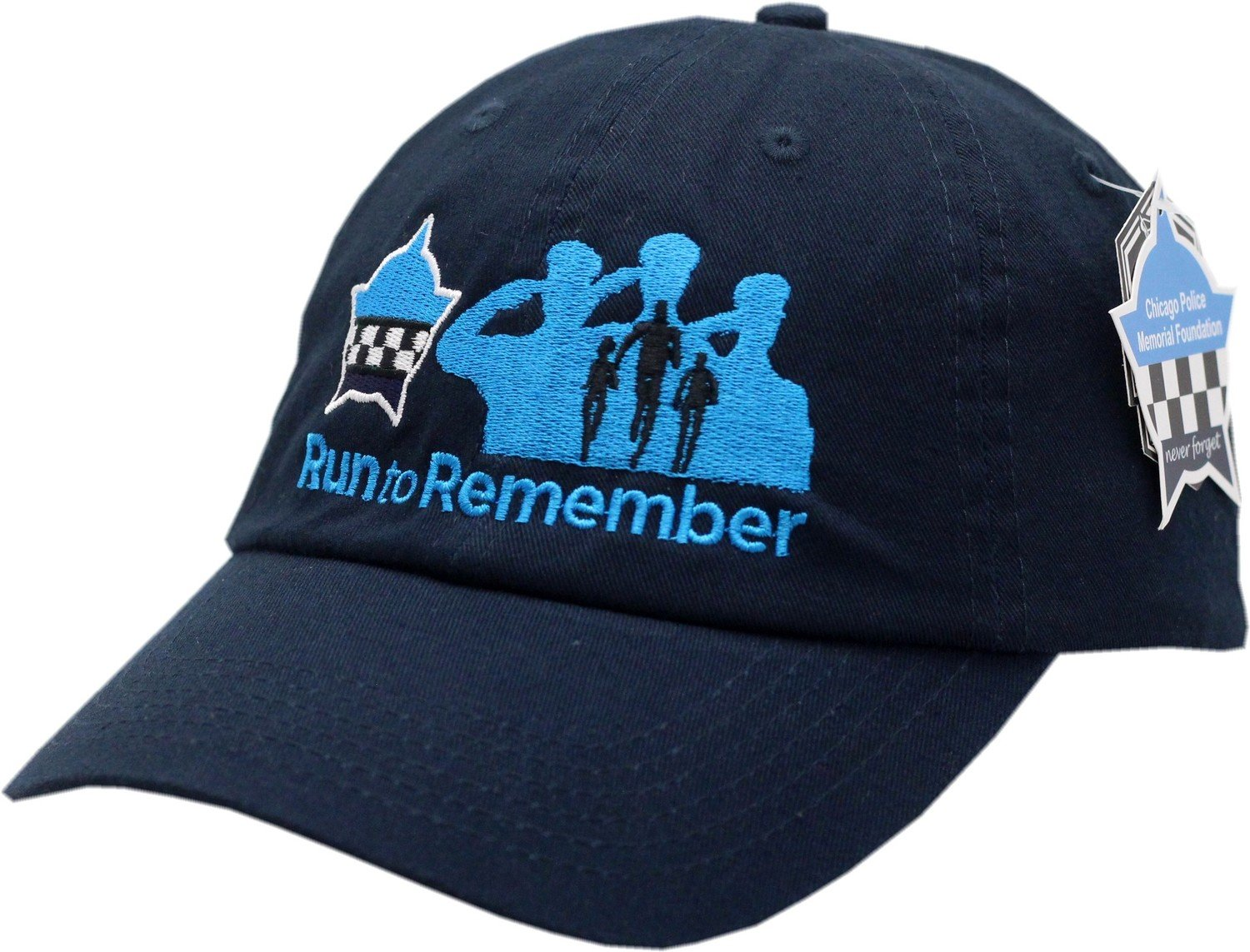 Run To Remember Slouch Hat Buckle Back