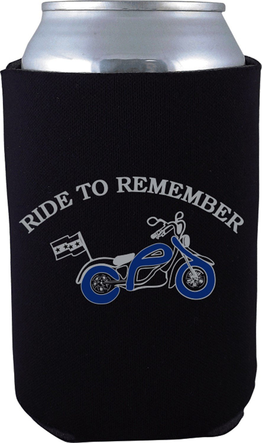 Ride To Remember Can Koozie