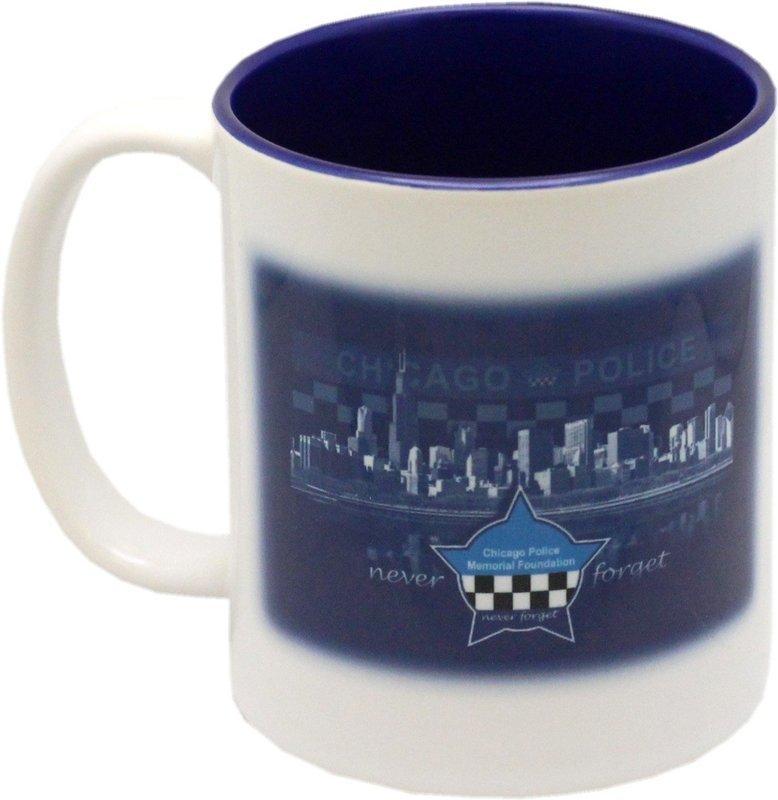 CPD Memorial Skyline Coffee Mug 2-Sided 10oz.