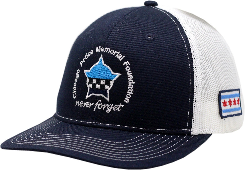 CPD Memorial Foundation Trucker Mesh Adjustable Strap Cap