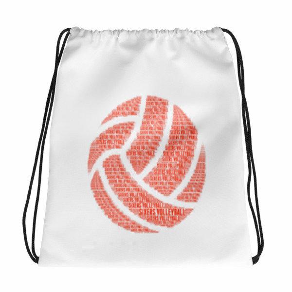 Sixers Volleyball Drawstring Bag