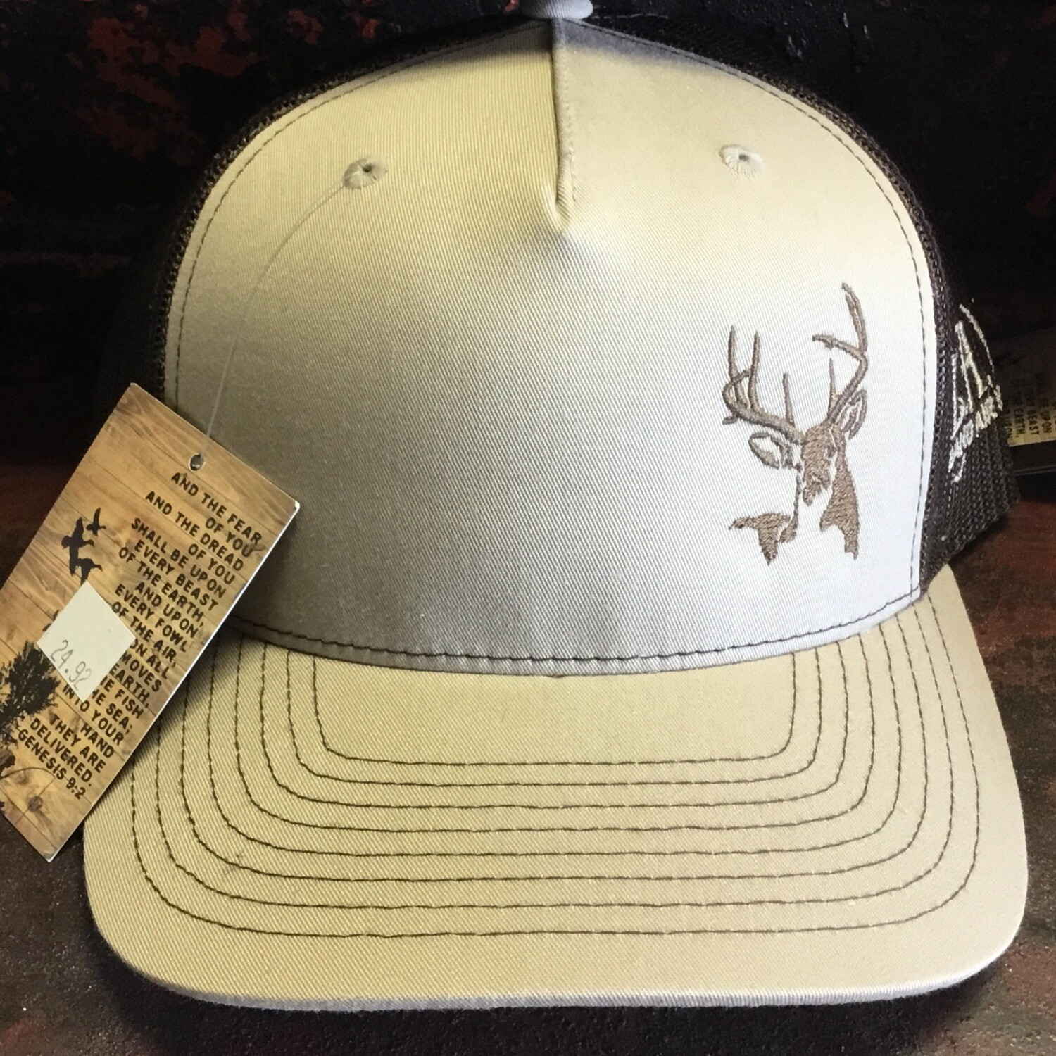 Deer Side Khaki/brown (trucker)
