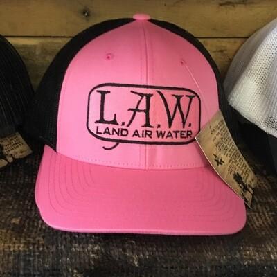 LAW Pink/Black (trucker)