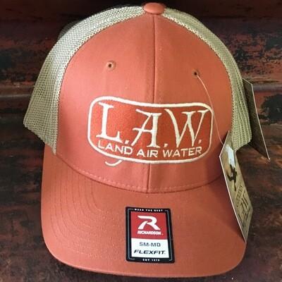 LAW Flexfit Rustic Orange (trucker)