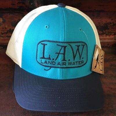 LAW Blue On Blue (trucker)