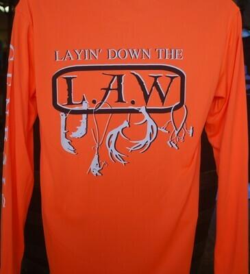 Orange Layin Down The Law