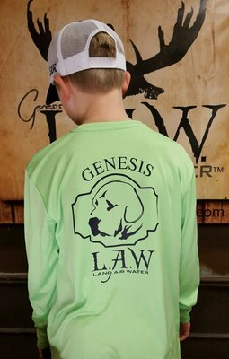 Poly Long Sleeve Green Lab