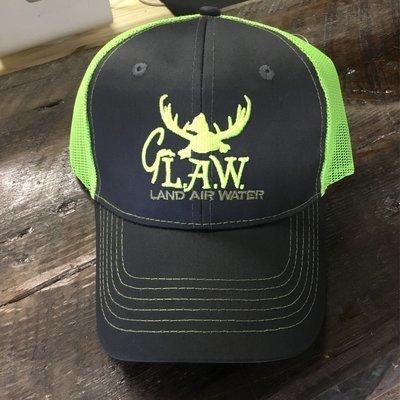 Duck G. LAW Lime Green Trucker
