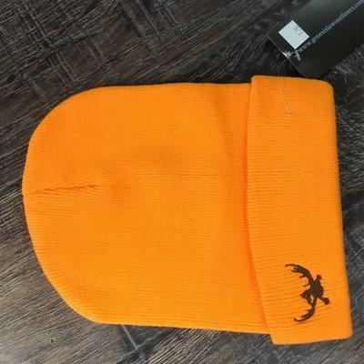 Orange Duck Beanie