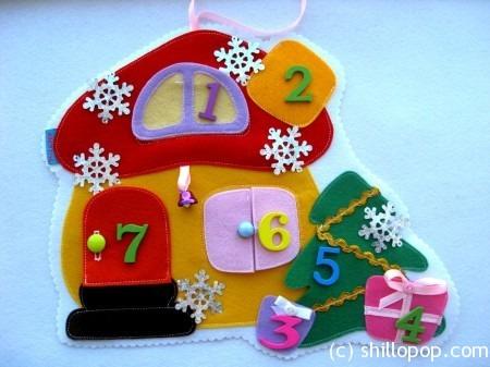 Домик - календарь ожидания праздника
