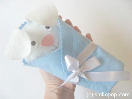 Зайка и Мишутка в одеяле