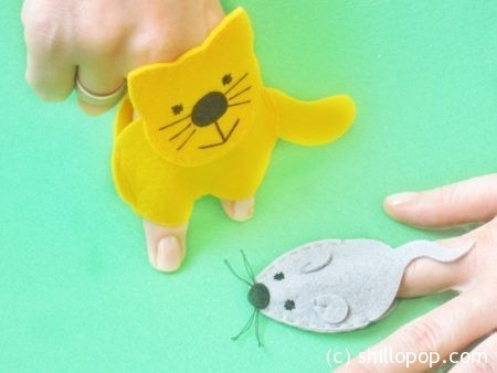 Пальчиковая игра Кошки-мышки
