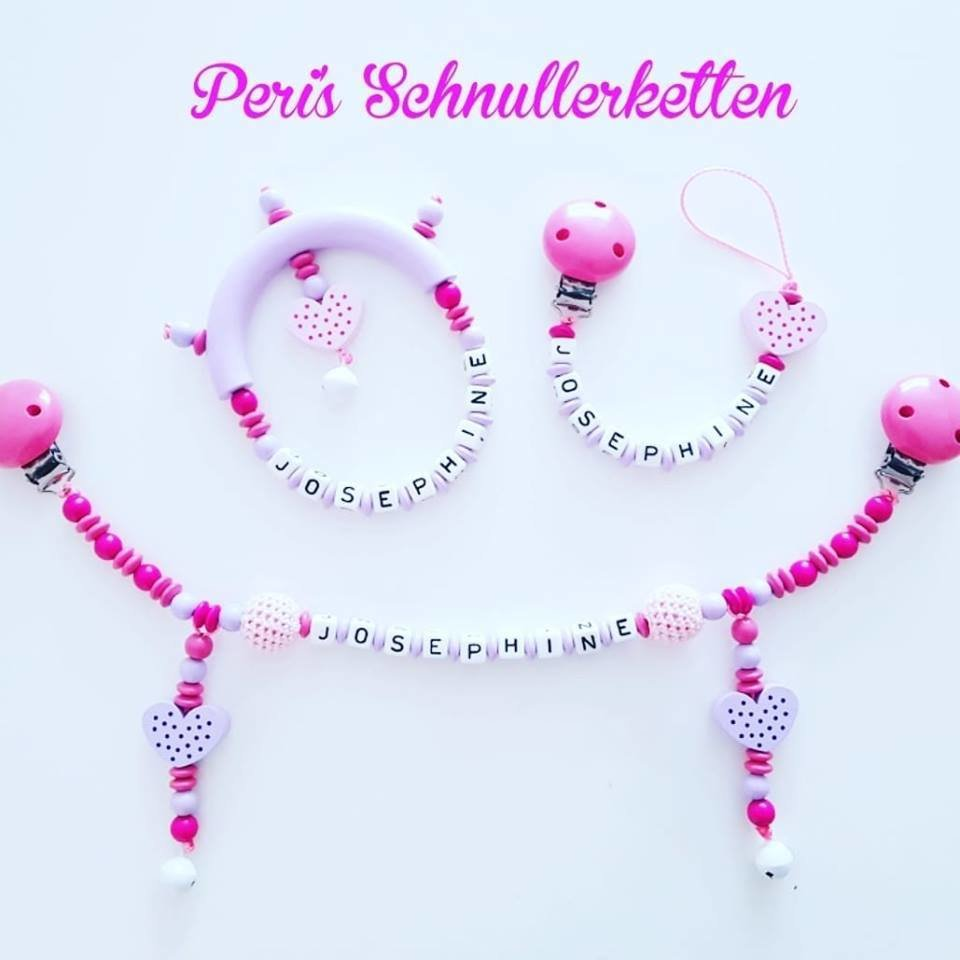 Set in pink -rose - flieder