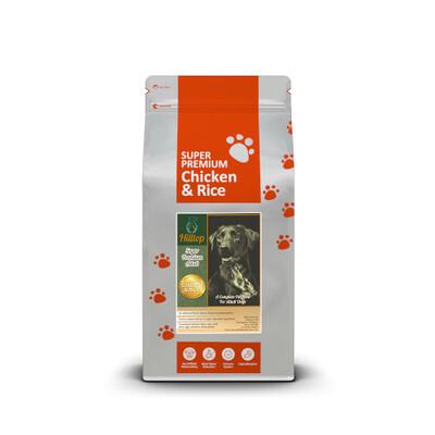 Hilltop Super Premium Adult Dog - Chicken & Rice