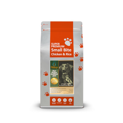 Hilltop Super Premium Small Breed Adult Dog - Chicken & Rice