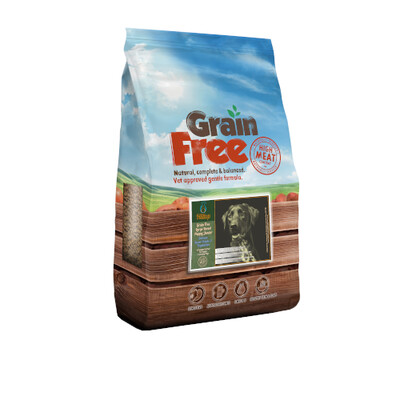 Hilltop Grain Free Large Breed Puppy/Junior - Salmon, Sweet Potato & Vegetables