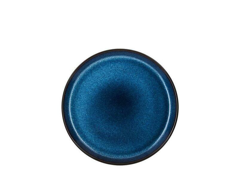 Bitz 21cm diskur svartur/dökkblár