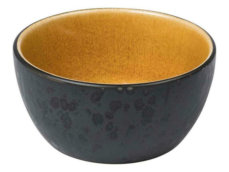 Bitz skál 10cm svöt/amber