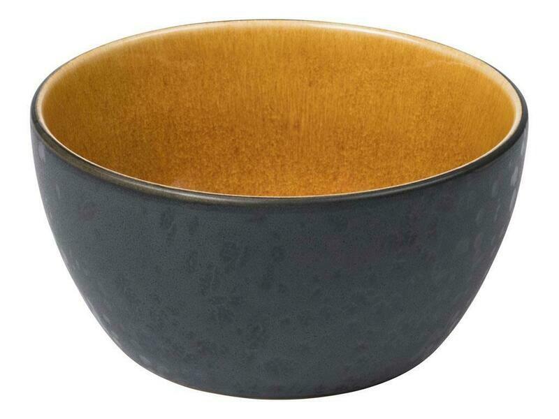Bitz skál 12cm svört/amber