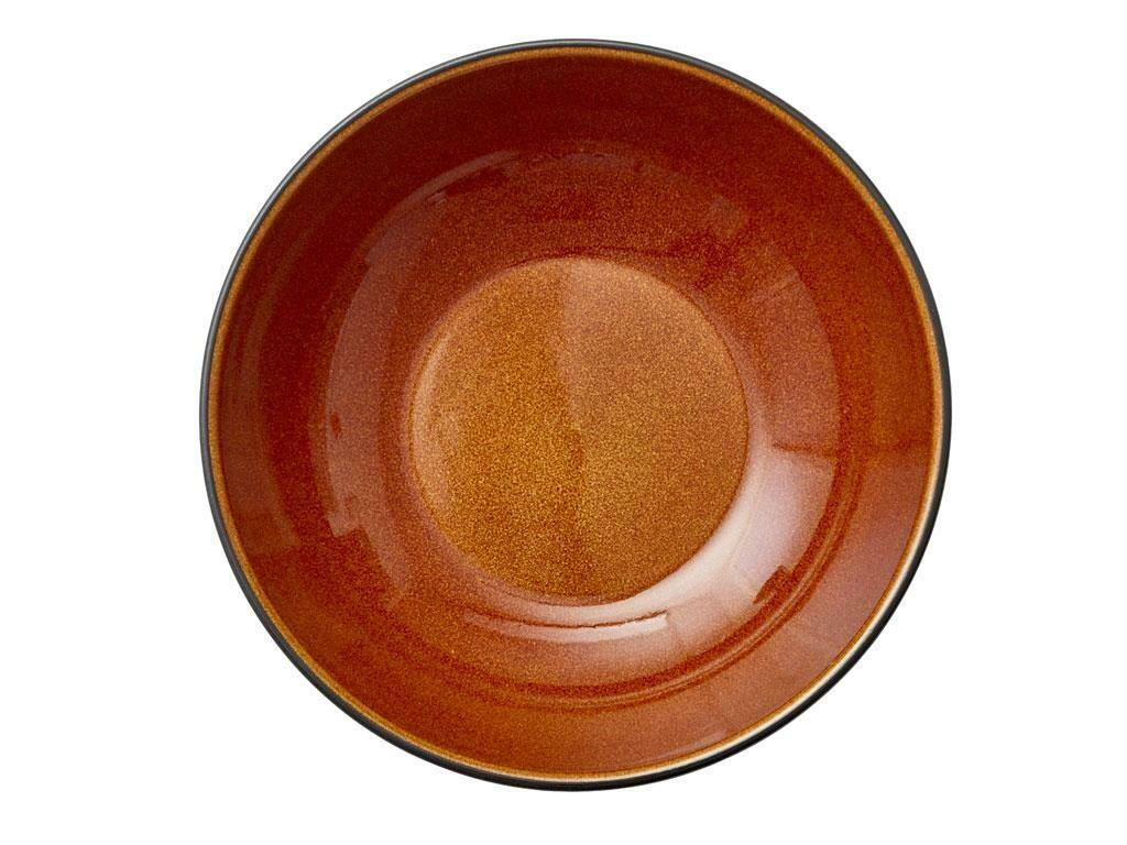 Bitz skál 24cm svört/amber
