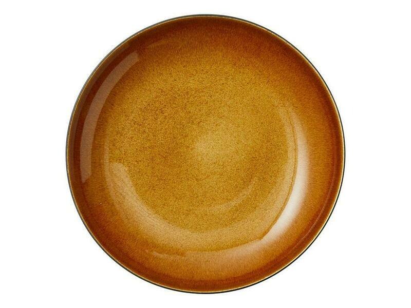 Bitz skál 40cm svört/amber