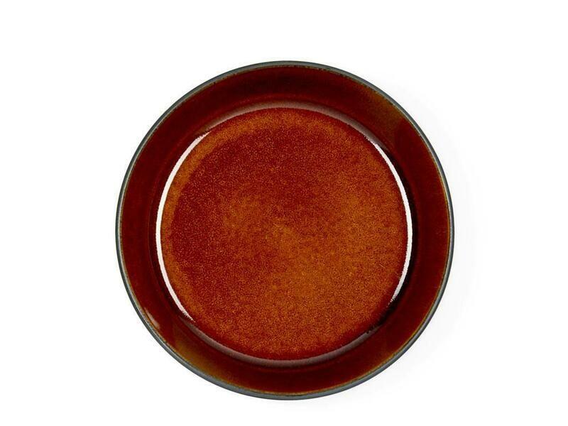 Bitz skál 18cm svört/amber