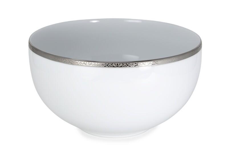 Classic Platinum Stór Salatskál
