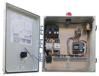 Anua Simplex-Simplex Contactor PLC Repeat Timer-Repeat Timer or Demand with ETM CC, 115/230V