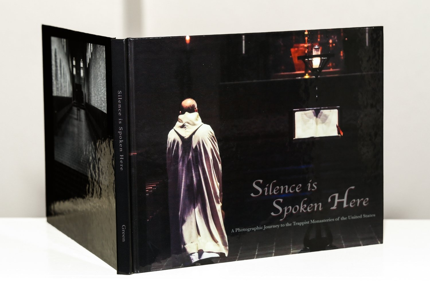 """Silence is Spoken Here - A Photographic Journey to the Trappist Monasteries of the United States"""