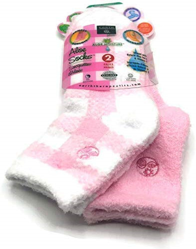 Aloe Infused Socks | Diabetic Socks | Neuropathy | Soft Warm Socks | Arthritis | Foot Pain Relief | 2 pack | Aching Feet