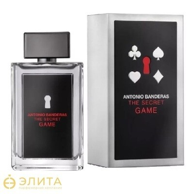 Antonio Banderas The Game Secret - 100 ml edt