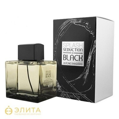 Antonio Banderas Splash Seduction in Black - 100 ml edt