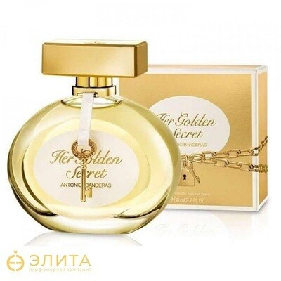 Antonio Banderas Her Golden Secret - 80 ml