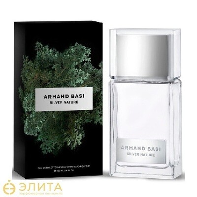 Armand Basi Silver Nature - 100 ml edt