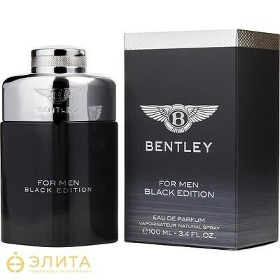 Bentley Black Edition - 100 ml
