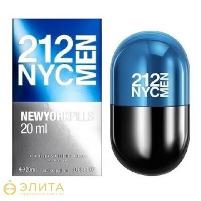 Carolina Herrera 212 NYC Men Pills - 80 ml