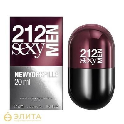 Carolina Herrera 212 Sexy Men Pills - 80 ml