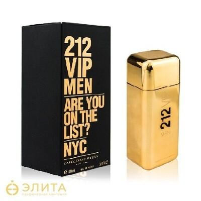 Carolina Herrera 212 Vip Men Gold - 100 ml