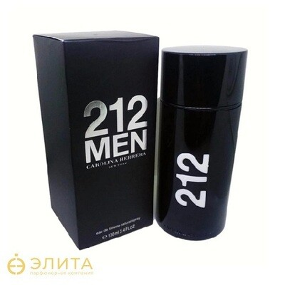 Carolina Herrera 212 Men Black - 100 ml