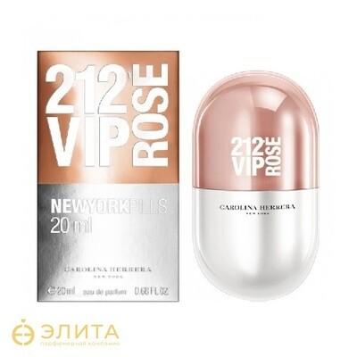 Carolina Herrera 212 Vip Rose Pills - 80 ml