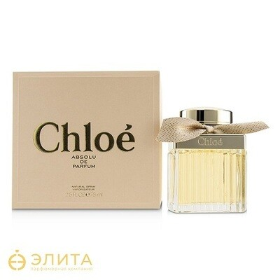 Chloe Absolu de Parfum - 75 ml