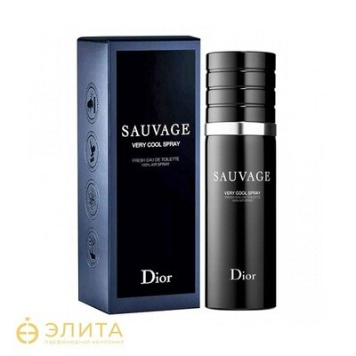Christian Dior Sauvage Very Cool Spray - 100 ml