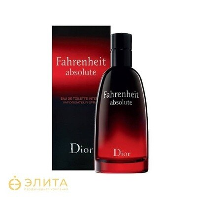 Christian Dior Fahrenheit absolute - 100 ml
