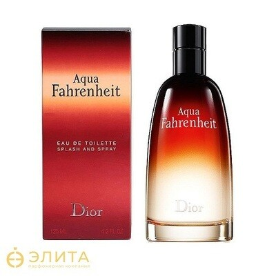 Christian Dior Fahrenheit Aqua splash and spray - 100 ml
