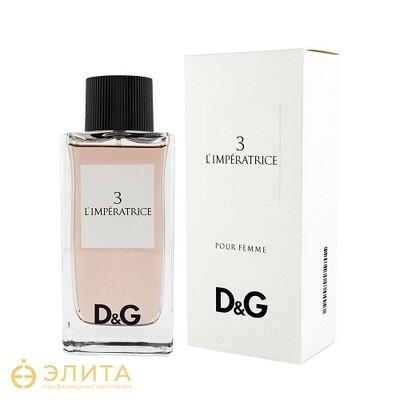 Dolce & Gabbana № 3 L`imperatrice - 100 ml